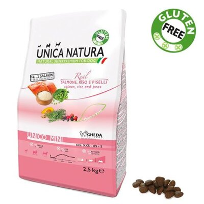 Unica Natura Mini Salmon 2,5kg