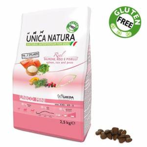 Unica Natura Mini Salmon 800g